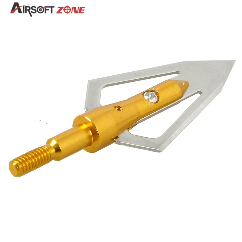 6PCS lot Gold Replaceable Arrowhead Broadhead Flechas Carbono Recurve Bows Arrows Archery Arrows for Compound Recurve
