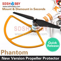 2pairs DJI Phantom 4 9450S Full Carbon Fiber Propellers Self-Locking Self Tight with Aluminum Alloy Seat Phantom4 DIY Accessory