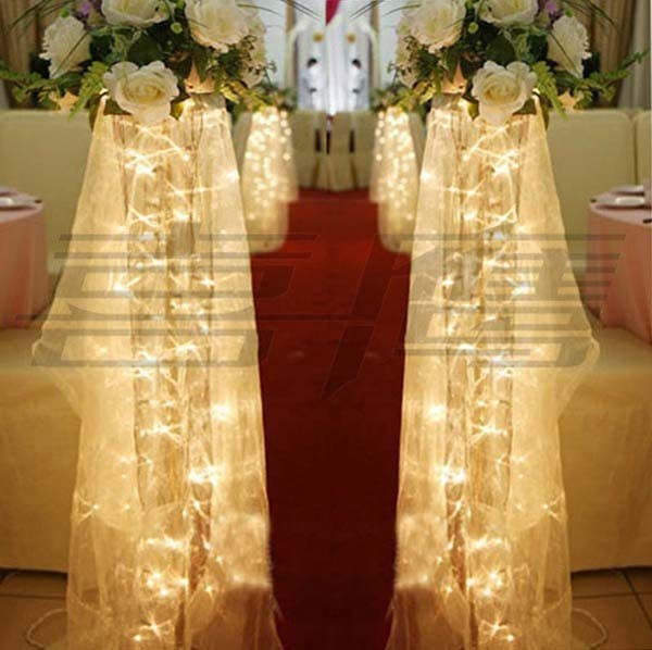 9 colors Holiday Festival lights Lamps PARTY CHRISTMAS WEDDING Decoration 4m LED STRING Strips 40 SMDs Free Shipping(China (Mainland))