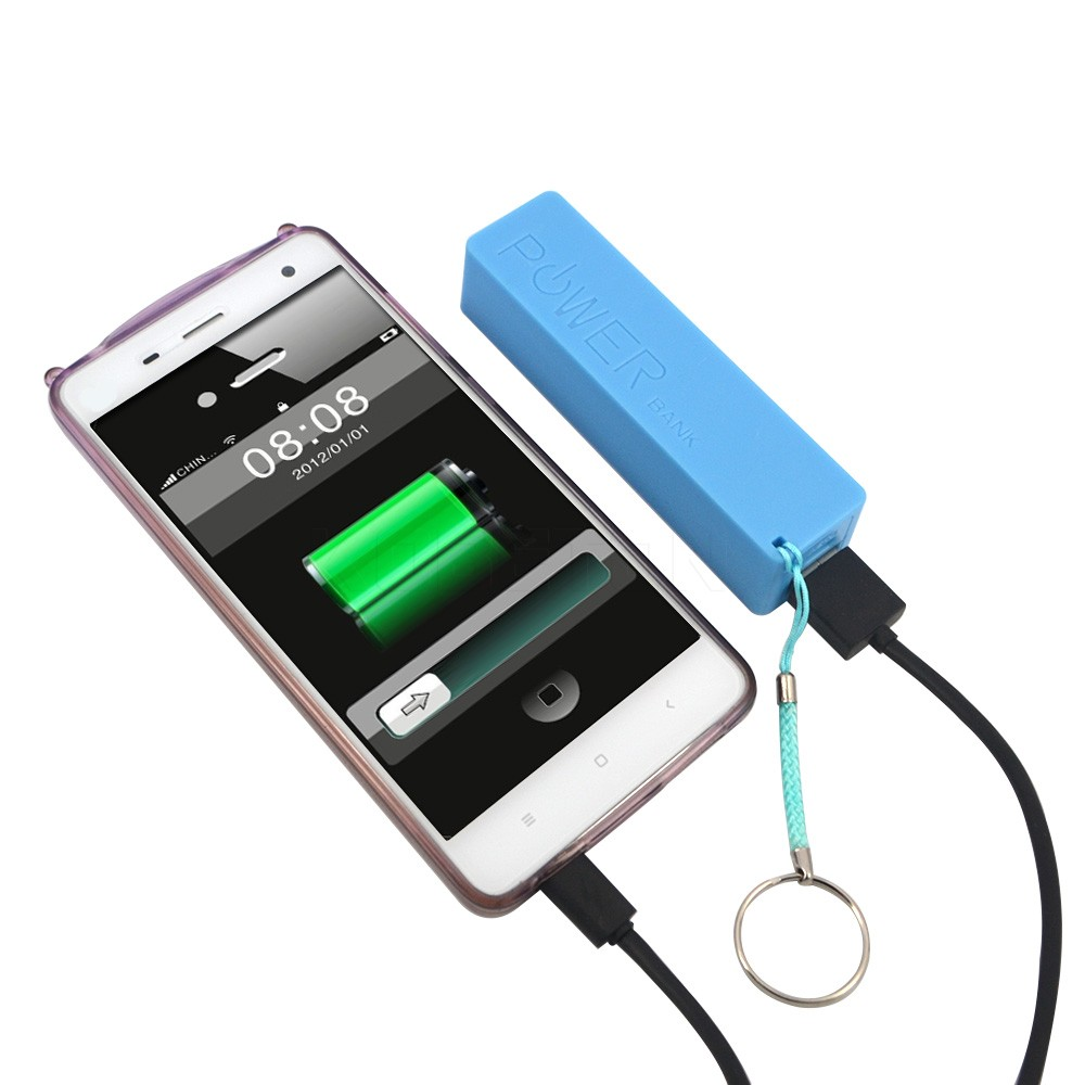 image for Mobile Phone Portable Power Bank Case Backup Battery Charger 18650 Bat