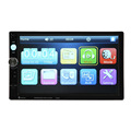 Car 7 inch 2 Din Bluetooth Hands Free HD Touch Screen Car Radio Player MP5 Player