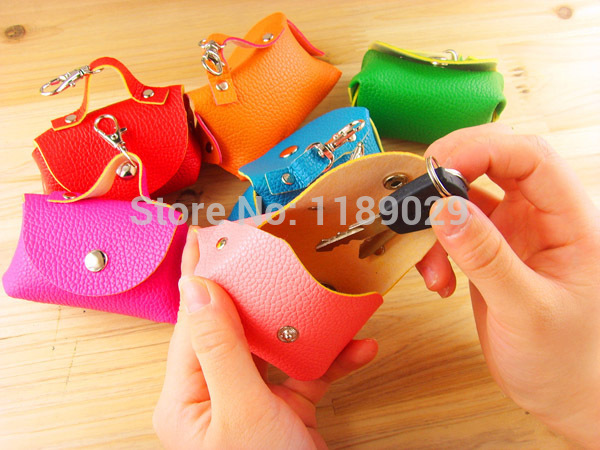 New Sweet Lovely Candy Color Fashion Women Men PU Leather Zipper Wallet Purse Mini Coin Key Small Handbag Bag Clutch Case(China (Mainland))