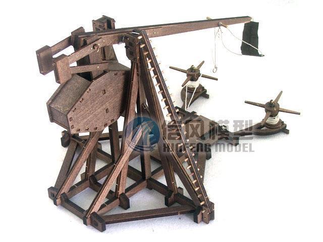trebuchet model kit 2