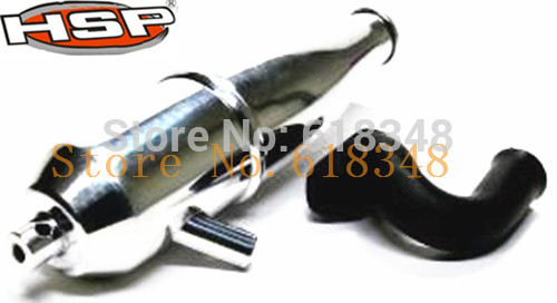 Tuned Exhaust Pipe & Header Manifold Parts Engine RC 1:10 Model Car HSP 102009 & 02031A(China (Mainland))