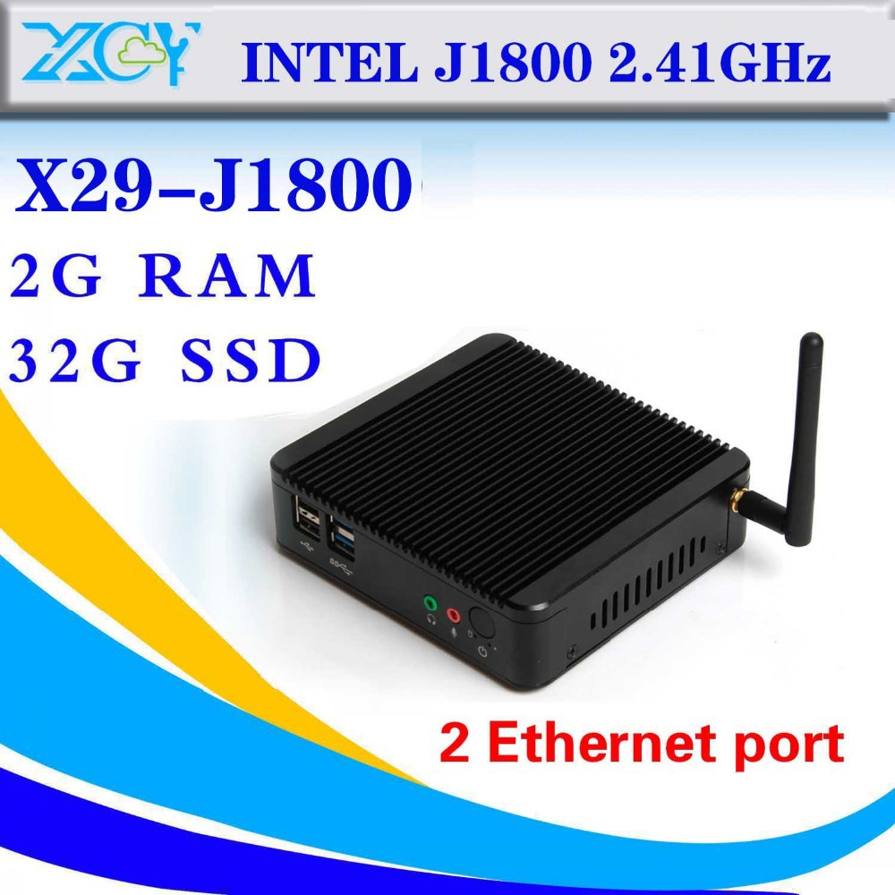 Hot On Sale Cheap Mini Desktop PC J1800 dual core Latest Mini Computer Thin Client Cheap Mini PC Station Thin Client(China (Mainland))