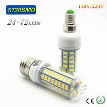 Buy High Lumen 110V 220V Lampada LED Lamp E27 SMD 5730 7W 12W 15W 18W 20W Replace E14 LEDs lamparas Led Corn Bulb spotlight for $1.78 in AliExpress store