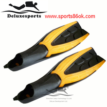 hot sale!Dive equipment Flipper comfortable adjustable yellow Diving Fins  new dive athletic equipment Swimming Fins F-04y(China (Mainland))