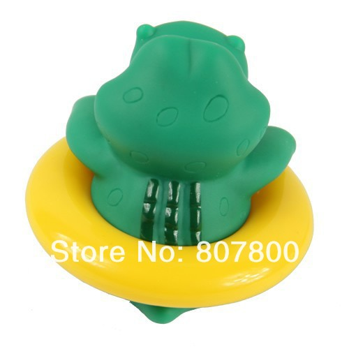 Free shipping 5pca/lot Cute Crocodile Baby Bath Tub Thermometer Infant Water Temperature Tester Bathing Temperature Toy(China (Mainland))