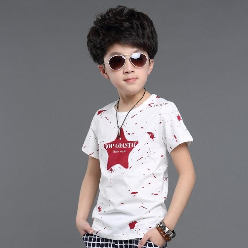 Boys summer spring kids t shirts roupa menino children clothes boys t-shirt baby camiseta infantil garcon clothing bobo choses