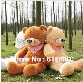 bridthday Festival gift Lovely cute teddy bear toys for kids, big size and plush toy 120cm 3 color(China (Mainland))