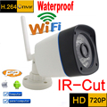 ip camera 720p HD wifi cctv security system waterproof wireless weatherproof outdoor infrared mini Onvif IR