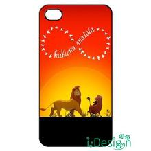 Fit for iphone 4 4s 5 5s 5c se 6 6s plus ipod touch 4/5/6 back skins cellphone case cover Infinity Lion King Hakuna Matata