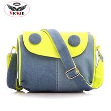 Hot Sale Woman Denim Bag Canvas Women Messenger Bags Casual Female Shoulder Crossbody Bag High Quality Blue Small Bags Bolsas 71