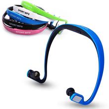 Portable Wireless In Ear Sports Headphone Earphones Headset TF card slot + FM Radio Five Kinds of Color
