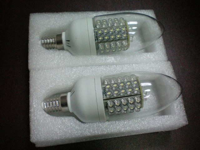 LED Corn Light with E27 Base;66pcs 5mm dip led;3.5-4W;270-380 lm;P/N:HA005C