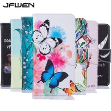 Buy Fundas LG G5 Case Leather Flip Wallet Butterfly Flowers Painted Case Cover LG G5 Phone Cases Card Stand Function for $3.74 in AliExpress store