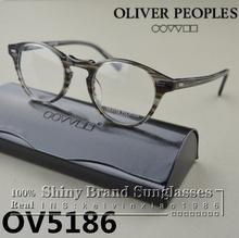Горячая 2015 оливер народов очки OV5186 грегори пек мода старинные оптические близорукость очки для женщины и мужчины