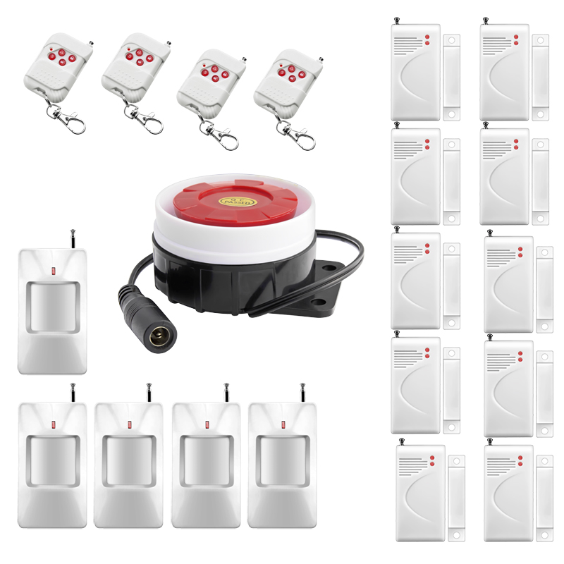 P707 Intelligent Wireless Remote control Home Alarm System Simple Setting for Home Security Protection Burglar Anti-theft Alarm<br><br>Aliexpress