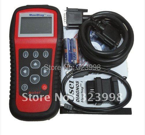 Newest Autel pro MD801 maxidiag 4 in 1 scan tool MD 801 scanner(JP701 + EU702 + US703 + FR704) with competitive price(China (Mainland))