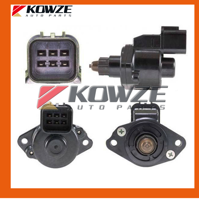 Idle Speed Control Servo Air Control Valve Stepper Motor Mitsubishi Lancer Colt Galant Grandis MD614368 MD628051 E9T15292