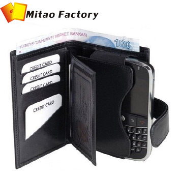 2013 New Arrivle Genuine Luxury Leather Case for Samsung Galaxy S3 S4  Mini Wallet Purse  Free Shipping Gift Box package