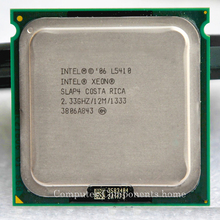 Original L5410 2.33 GHz / 12 MB / 1333 MHz / Quad Core / procesador LGA775 cerca a Core 2 Quad Q6600 CPU con 2 unids 775 adaptador(China (Mainland))