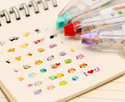 [YYYYAAAA] 1 pcs Korea Stationery Cute Novelty Decorative Correction Tape Correction Fluid School &amp; Office Supply <br><br>Aliexpress