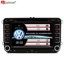 7″ Car GPS DVD 2 din radio player For VW/Volkswagen/Passat/GOLF/Skoda/Seat gps audio double din touch screen car stereo