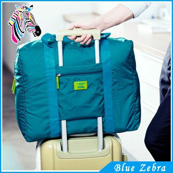 Blue Zebra New Arrival Travel Water Proof Unisex Travel Handbags Women Luggage Travel  Duffle Bag Folding Bags(China (Mainland))