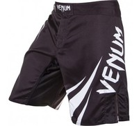 "Venum  ""Challenger"" Fightshorts-Black/Ice QUALITY COMBAT BOXING MMA TRAINING"