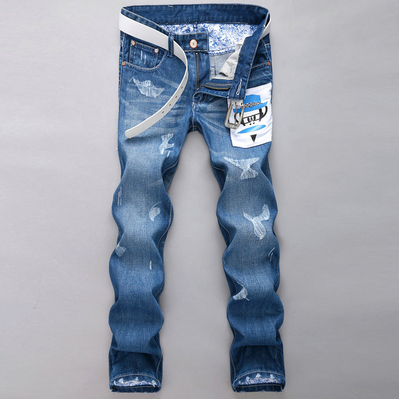 hot sale 2015 New Fashion brand jeans all new men' fashion jeans For man clothes 2015 New Men's pants cotton free Shipping(China (Mainland))