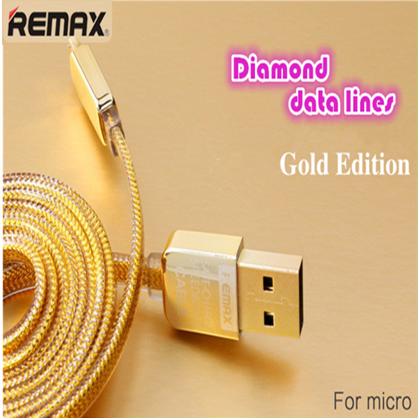 REMAX Fashion Transfer data cable 1M 2 in1 Prevent loss USB Data line tablet Charger For Iphone 5/5s/6 Samsung HTC LG Android(China (Mainland))