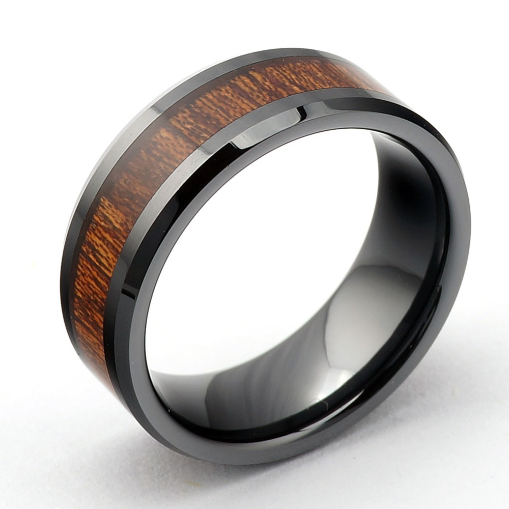 wooden wedding rings men mens wedding rings wooden - Wooden Wedding Rings For Men