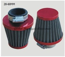 Performance Air Filter 28-44mm Gold/Blue/Silver GY6 50cc 139QMB ATV70 110 125 Scooter Motorcycle 05