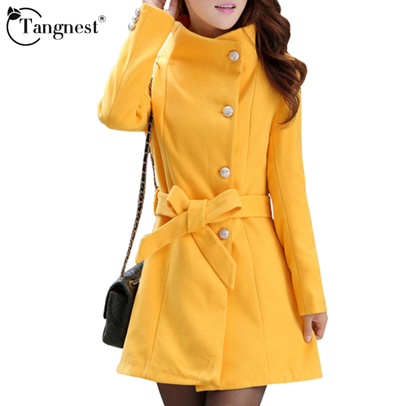 Women Trench Coat Winter Warm Long Outwear OL Work Suits Korean Style Turn Down Collar Elegant Belt Ladies Coat WWD183Одежда и ак�е��уары<br><br><br>Aliexpress