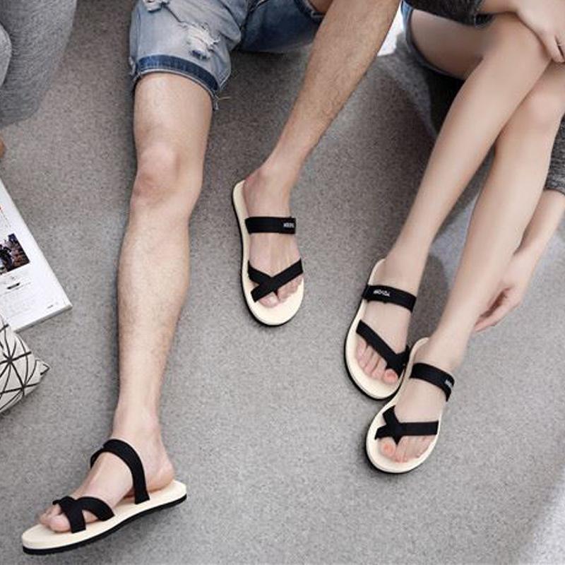 designer flip flops 4qko  Summer Style Fashion Lover Slippers Designer Flip Flops Rubber Beach  Slippers Men Women Shoes Casual Sandals