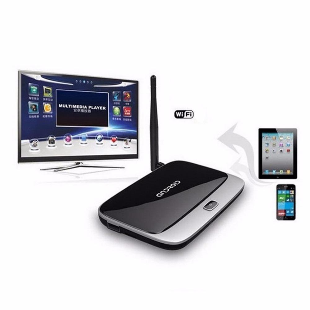 CS918 2GB 8GB Android 4.4 TV Box Full HD 1080P RK3188 Quad Core Media Player TV Wifi Antenna with Remote Control EU Plug Hot New(China (Mainland))