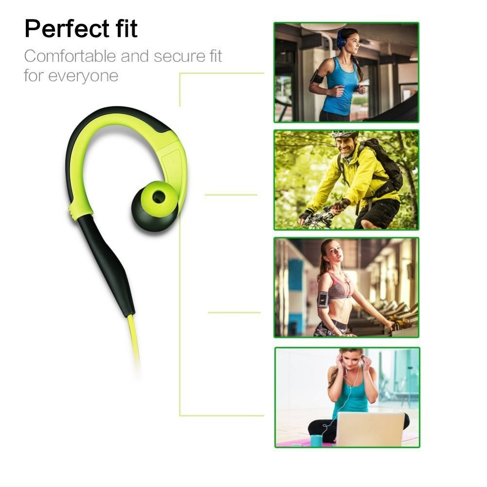 Running Sport Earphone With Mic Auriculares Fone De Ouvido For Samsung iPhone Sony