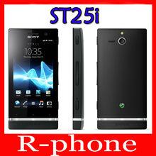 Big Discount Original Sony Xperia U ST25i Mobile Phone Unlocked ST25i Dual-core phone 3G GSM WIFI GPS 5MP(China (Mainland))