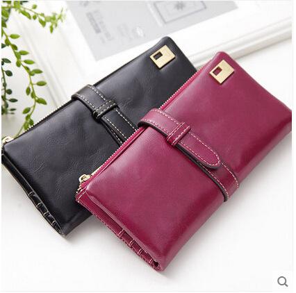 2015 new women wallets,women leather wallets,fashion purse female,PU wallets ladies,red portfolio female,women purses clutch(China (Mainland))