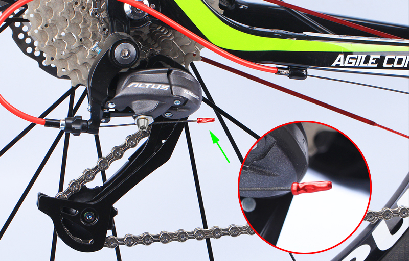 10x S Buckle Mountain Road Bicycle Disc Brake Cable Sets Pipe Line Accessory RS
