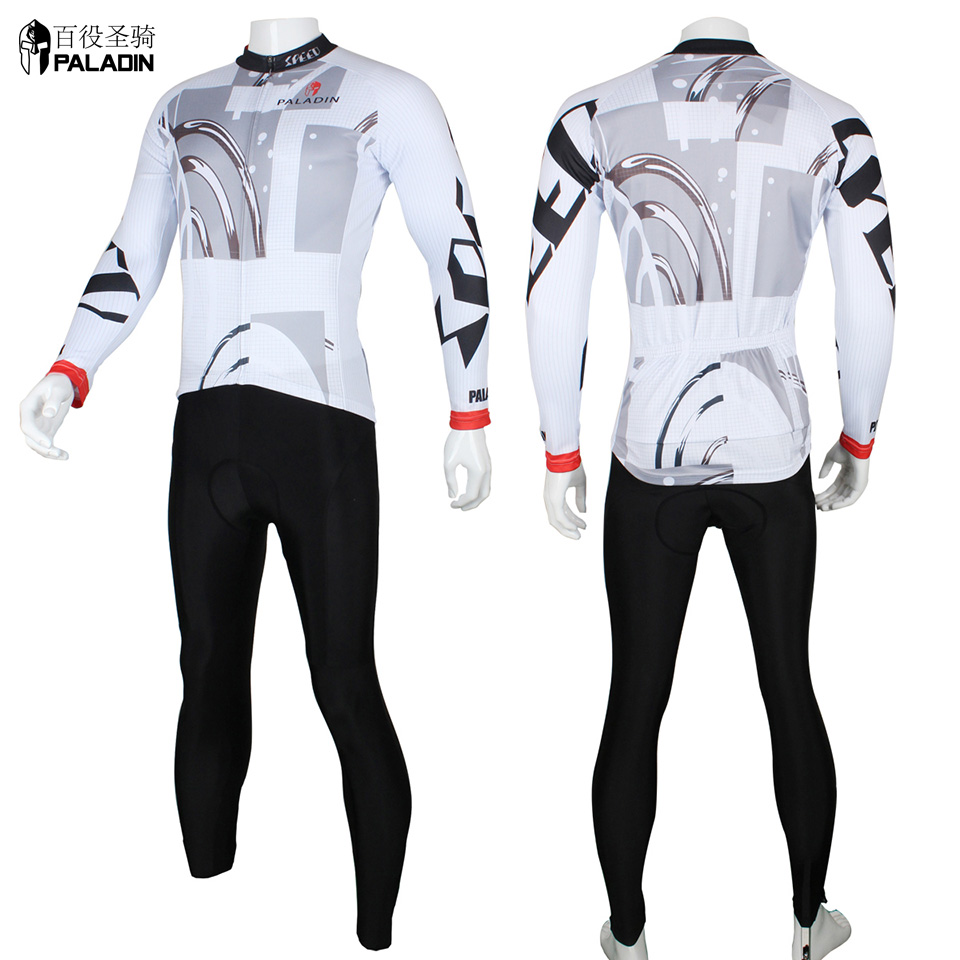 Riding Bicycle Clothing Sets Jersey Cycling Long Sleeve for Men High Quality PALADINsports Time and Speed 173<br><br>Aliexpress