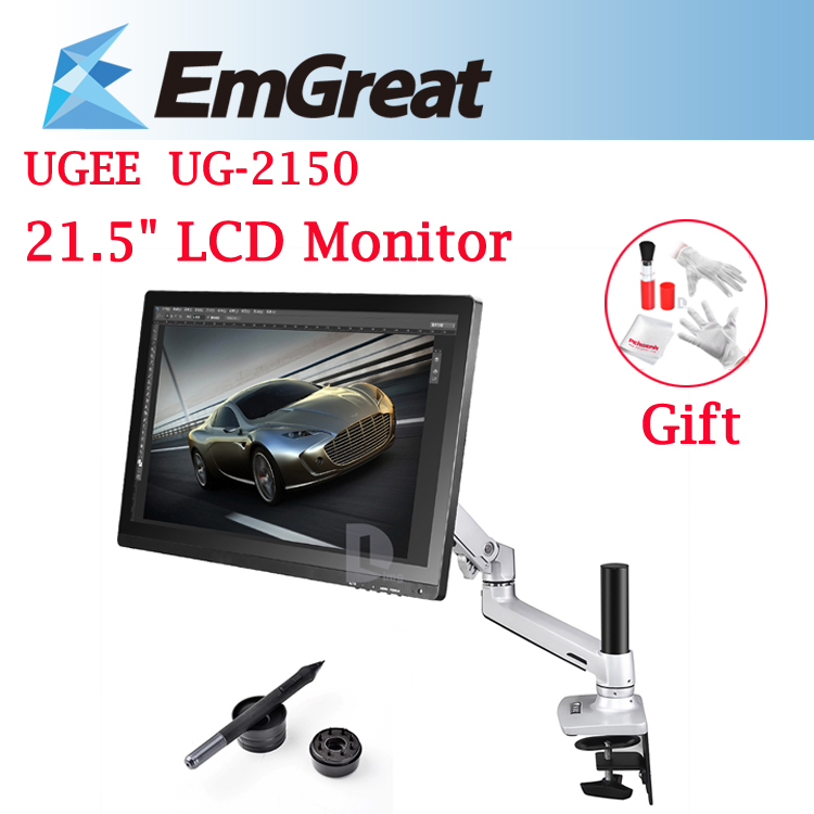 "UGEE UG-2150 21.5"" IPS Monitor 1920x1080 HD Display Graphic Tablet Drawing Board Touch Screen Digital Pen +Desk Mount Stand+GIFT(China (Mainland))"