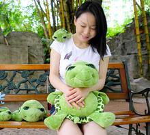22cm Hot Ocean Park Green Sea Tortoise Turtle Plush Dolls Toy Child Birthday Gift Girlfriend Gifts(China (Mainland))
