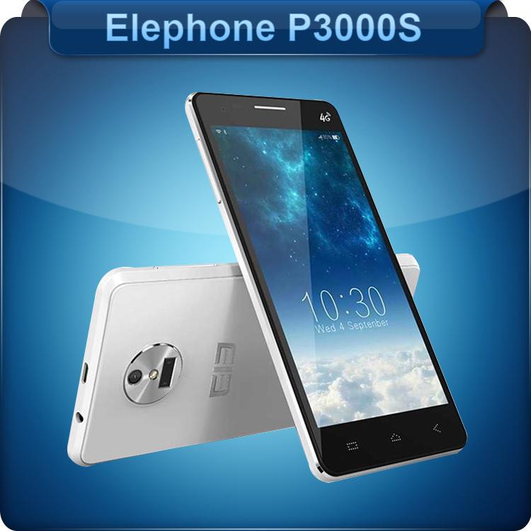 "Free DHL!! New Original Elephone P3000S MTK6752 Octa Core 4G LTE Cellphone 5"" FHD Android 4.4 3GB RAM 16GB ROM 13MP Fingerprint(China (Mainland))"