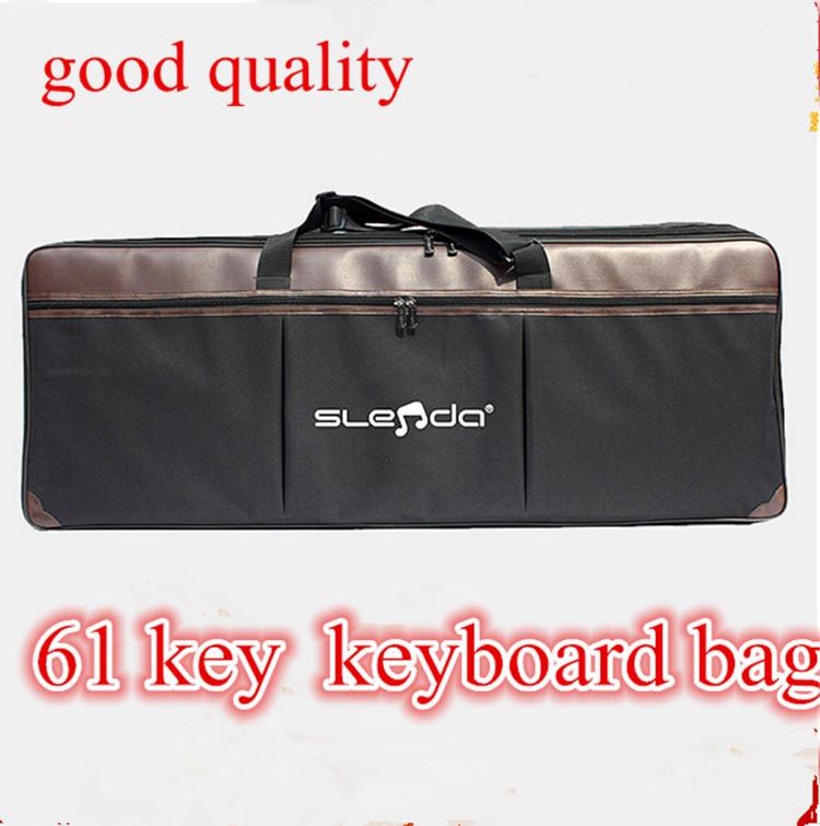 good quality 54 key 61 key keyboard bag electronic organ case Universal Keyboard package plus cotton thicker portable shoulder(China (Mainland))