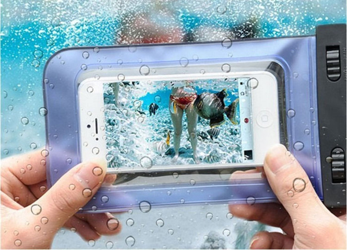 Hot Sale,100% Sealed Mobile Phone Waterproof Bag Case Cover for Huawei P8 p8 lite p7 for HTC cell phone for Nokia for Xiaomi(China (Mainland))