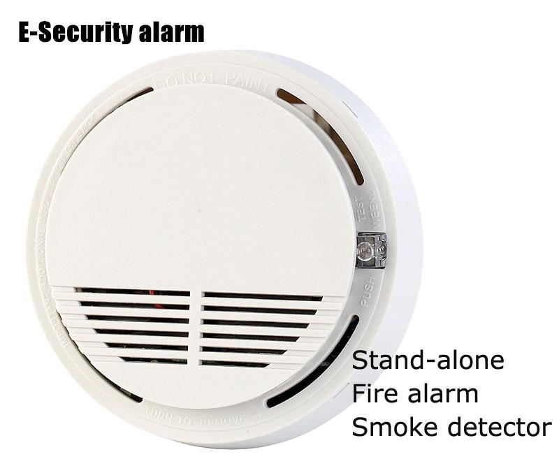 Здесь можно купить  High quality Independent & Wireless Smoke alarm 433MHz fire alarm detector SC2262 chip for GSM home alarm system (3pcs SM-100)  Безопасность и защита