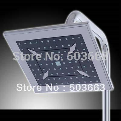 "new 8"" square plastic rain shower head A-901(China (Mainland))"