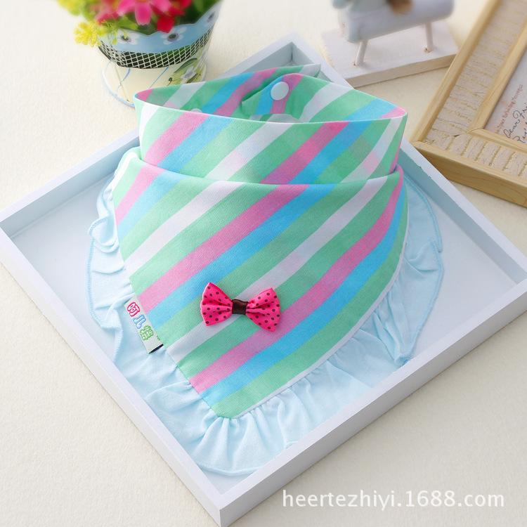 Cotton pretty baby girls bibs childrens head scarf baby saliva bibs baby care bibs<br><br>Aliexpress